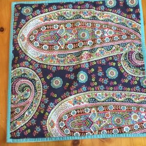 """Pottery Barn Set of 2 Paisley Pillow covers 18"""""""